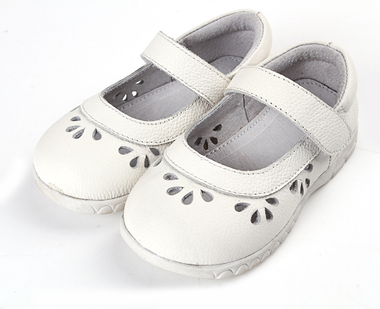 Girl 1pair Genuine Leather Children shoes+inner 12.5-18.5cm Baby Shoes,Super Quality Kids Soft Shoes