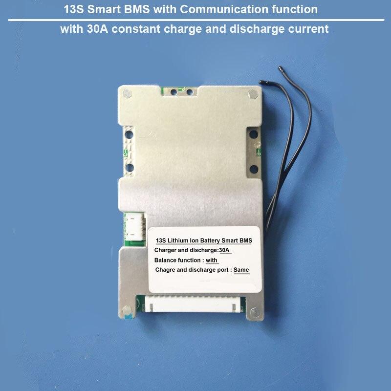 48 v 13 s Bluetooth Smart BMS con 30A costante corrente di scarica 54.6 v software PCB per la bici elettrica al litio batteria-in Batterie singole da Elettronica di consumo su AliExpress - 11.11_Doppio 11Giorno dei single 1