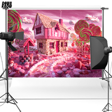 Candy sweetmeats Free shipping Vinyl Cloth Photography Background Backdrops backgrounds for photo studio F1514 недорого