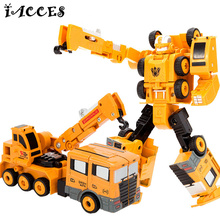 5 in 1 Metal Alloy Engineering toys Combination Vehicle Hercules Deformation Deformation font b Robot b