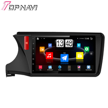"""10.1"""" Quad Core Android 4.4 Car PC GPS For City 2013 2014 2015 For Honda With Mirror Link Stereo Radio Without DVD Free Ship"""