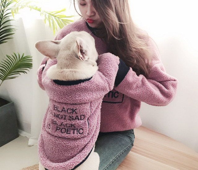 Family hoodies for pet and owner  My Pet World Store