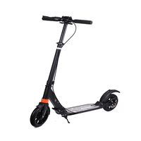 EU Stock For EU Market Kick Scooter with Disc Brake Handbrake Scooter Push Folding Scooter 8 Inch Wheels