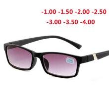 486a044ea0f3a Terminado miopia óculos de sol para unisex anti-blu-ray moda miopia óculos  de sol mulheres homens-1.0-1.5-2.0-2.5-3.0-3.5-4.0-