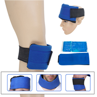 Headgear, Wrist, Elbow, Knee Cloth Cover, Gel Hot and Cold Ice Pack Massage