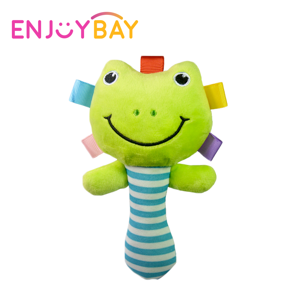 Enjoybay Hand Bells Baby Toys Cute Plush Animal Rattle Bell Newborn Infant Early Educational Doll Toy for Kids Chidren Hot Sale