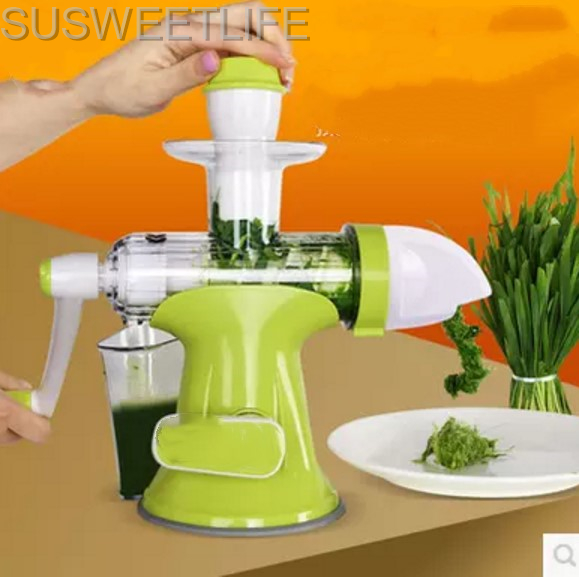 все цены на Multifunction Portable DIY Manual Juicer Fresh Apple Orange wheatgrass juicer Machine Health Kitchen Tools extracteur de jus онлайн