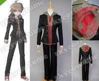 Danganronpa Dangan-Ronpa Makoto Naegi Uniform Cosplay Costume Any Size