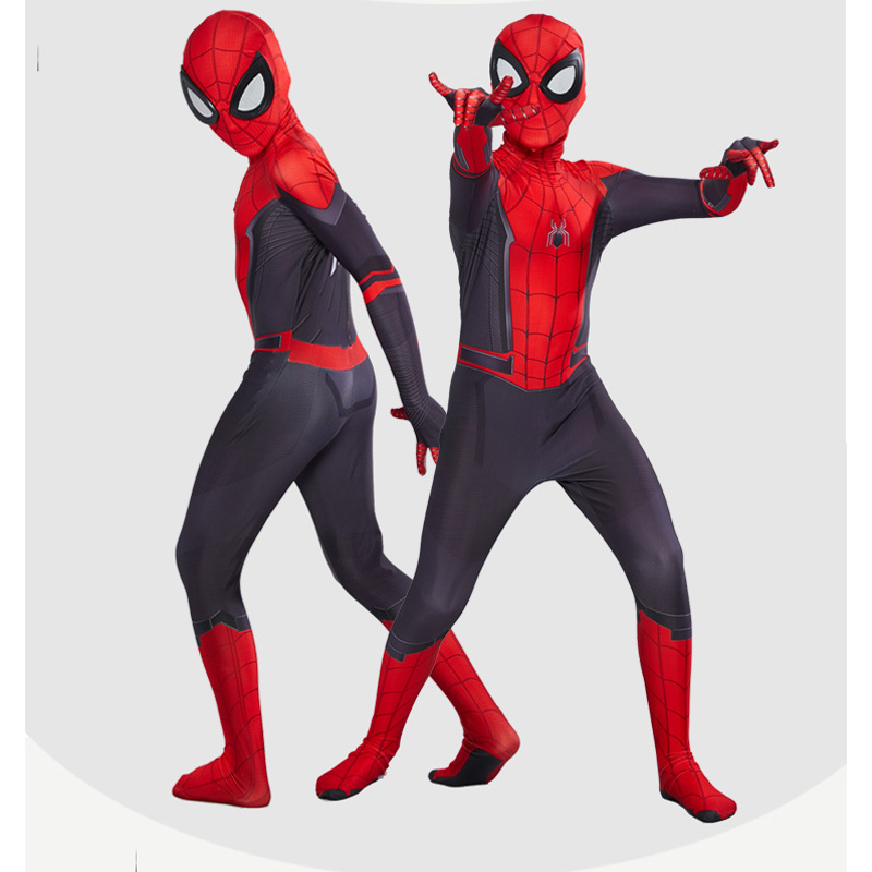 Spiderman Costume Spider Man Suit Spider-man Costumes Adults Children Kids Spider-Man Cosplay Clothing