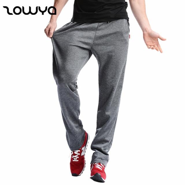 Zowya Men's Casual Loose Cotton Sweatpants For Men Leisure Streetwear Joggers Fitness Pants Male Elastic Waist Fashion Trousers