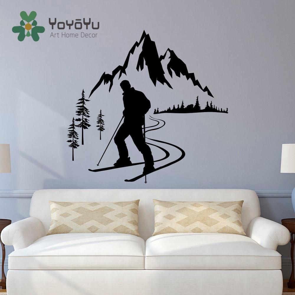Sports Wall Art popular ski wall art-buy cheap ski wall art lots from china ski