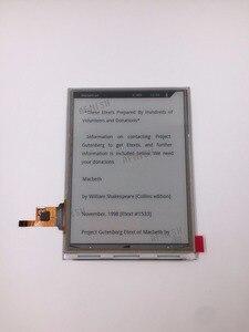 Image 1 - 100% חדש eink LCD תצוגת מסך ED060SD1 עם מגע, אין תאורה אחורית עבור inkbook קלאסי 2 ספר אלקטרוני קורא משלוח חינם