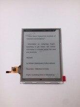100% nieuwe eink Lcd scherm ED060SD1 met touch, geen backlight voor inkbook Classic 2 ebook reader gratis verzending