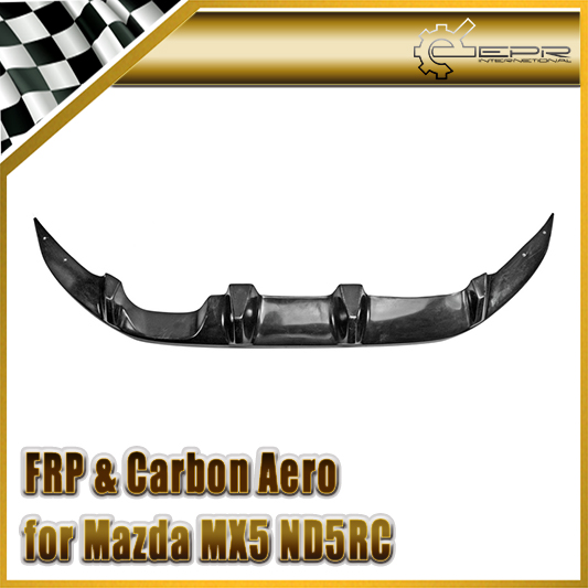 Accessoires de pare-chocs arrière en Fiber de verre FRP Fujimura Auto diffuseur arrière en Fiber de verre pour Mazda MX5 ND5RC Miata Roadster