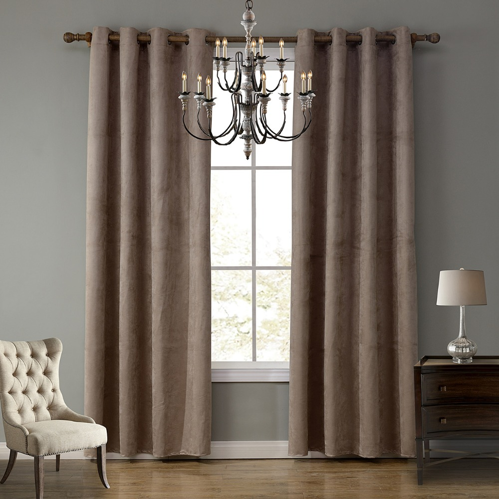 Popular suede curtain fabric buy cheap suede curtain for Space curtain fabric