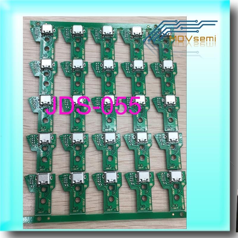 100pcs For PS4 Pro Controller USB Charging Socket Port Circuit Board JDS 055 050 FJDS055 New