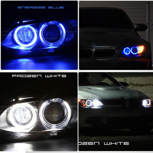 Image 5 - 2x H8 Error Free 40W 2400lm XPE Chips LED Angel Eye Marker Lights Bulbs For BMW  E60 E61 E70 E71 E90 E92 E93 X5 X6 Z4 M3