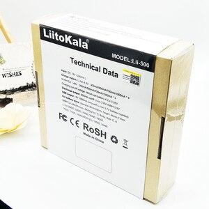 Image 5 - Liitokala engineer Lii 500 LCD 3.7 v 18650 18350 18500 16340 17500 25500 10440 14500 26650 1.2 v Li Ion AA AAA NiMH pin Carregador