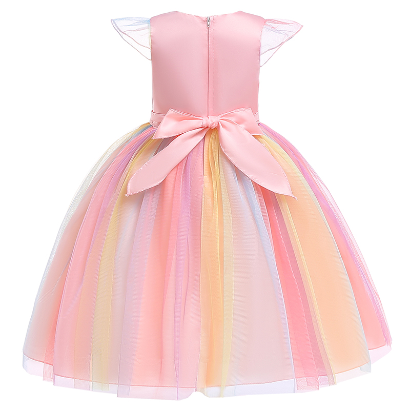 HTB1WzSXajzuK1Rjy0Fpq6yEpFXa0 Unicorn Dresses For Elsa Costume Carnival Christmas Kids Dresses For Girls Birthday Princess Dress Children Party Dress fantasia