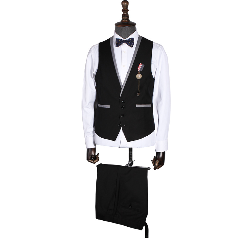 Slim Mens Suits Russian Business Suit Set Casual Career Suits Groom Tuxedo Mens Formal Wears ...