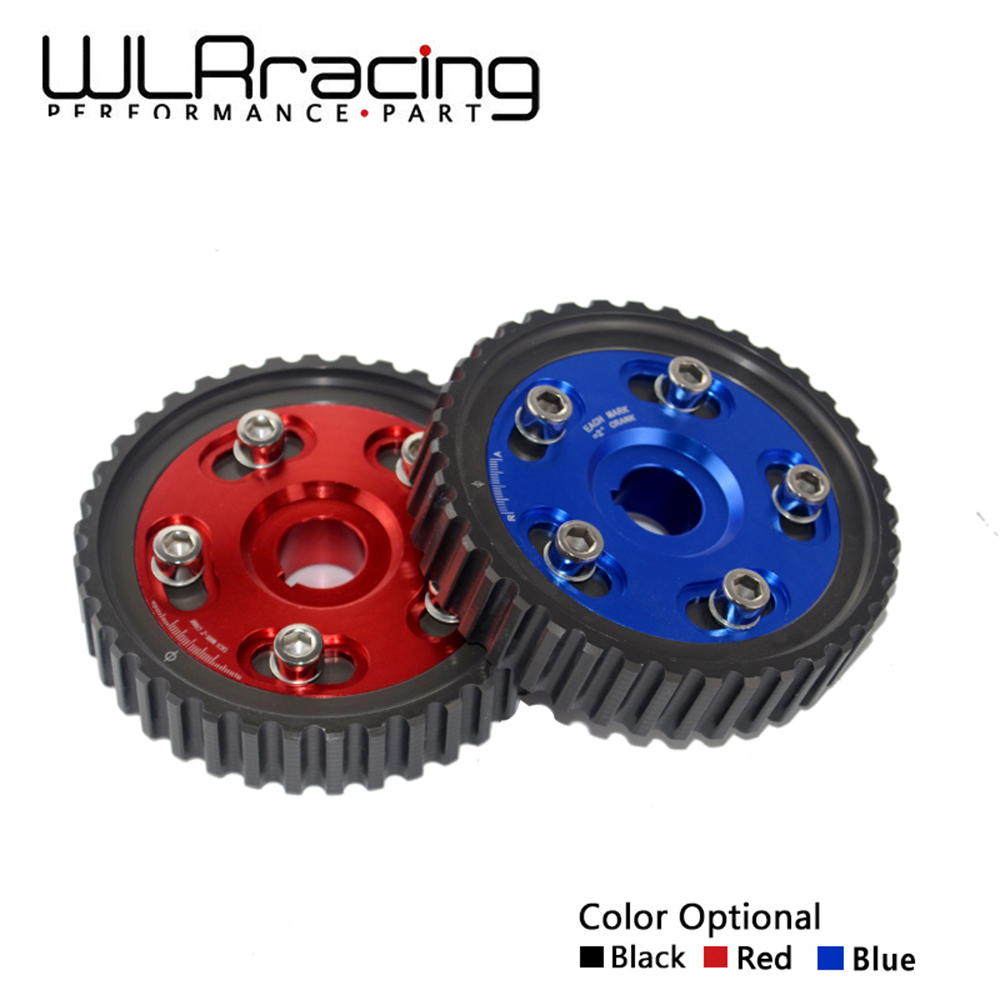 WLR RACING -- Adjustable Cam Gear Alloy Timing Gear FOR HONDA SOHC D15/D16 D-SERIES ENGINE CAM PULLEY PULLYS GEARS 1PCS WLR6542