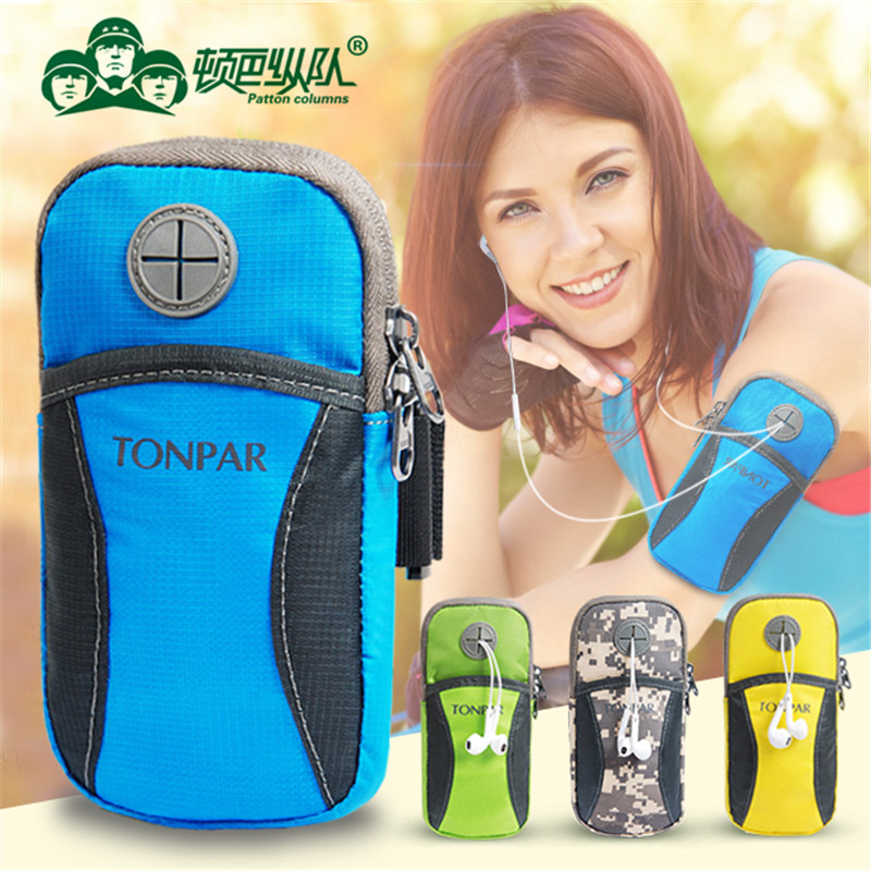 For iPhone 6 6s plus Mobile Phone Running Sport Waterproof Case cover Wrist Arm belt Band Bag For Huawei P9 P8 Lite/Sony Xperia