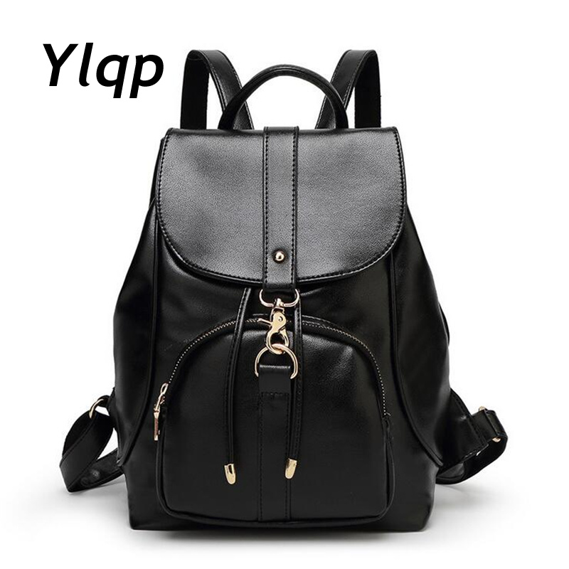 2017 New Fashion Designer Women Backpack Women travel bags vintage School Shoulder Bag Motorcycle Bag mochila