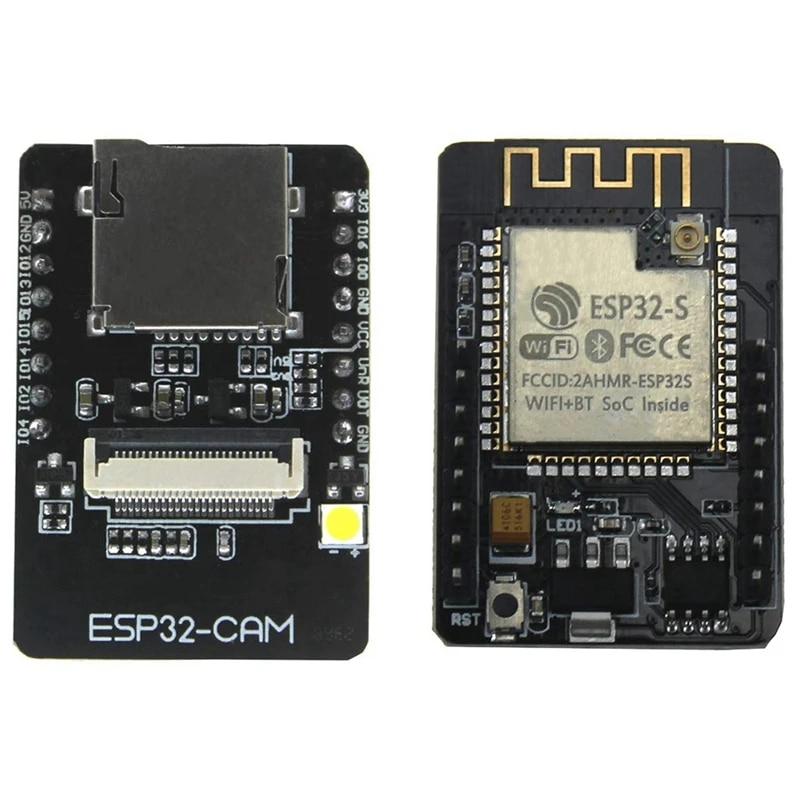 2 Set Esp32 Cam Camera WiFi Bluetooth Module 4m PSRAM Dual Core 32 Bit C5s8 for sale online