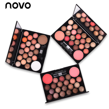 NOVO Profissional Marca 22 Cores Da Paleta Da Sombra nua Neutro Sombra Do Olho Nu Bronzer & Highlighter Blush Make-up disco