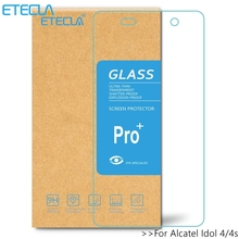 2 шт для Alcatel Idol 4 стекло Alcatel Idol 4 S закаленное стекло на Onetouch Idol4 Защитное стекло для экрана 6055k 6070k 5,2 5,5 пленка