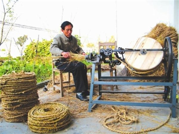 straw rope machine (2)