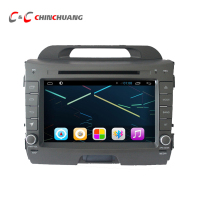 updated ! Android 8.1 Octa Core T8 2G RAM + 32G ROM Car DVD Player for KIA Sportage 2010 2015 with Radio GPS Navigation DVR Wifi