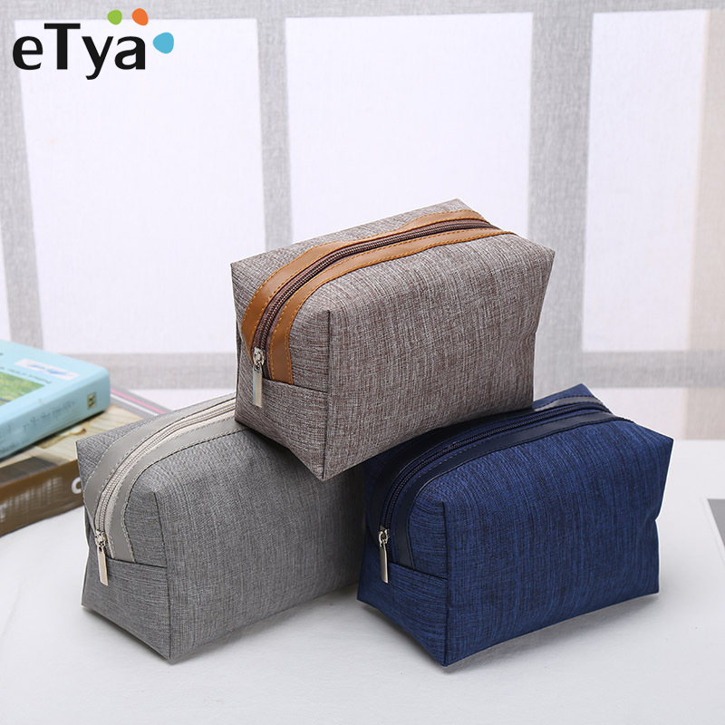 eTya New Style Cosmetic Bag Fashion Women Beauty Makeup Organizer Toiletry Storage Case Travel Female Cosmetics bags Wash Pouch