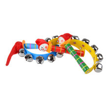Cute Infant Baby Bells font b Toys b font Colorful Kids Toddler Musical Baby Jingle Rattles