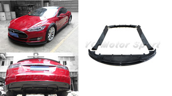 Car Accessories Carbon Fiber RZ R-Zentric Style Bodykits Fit For 2012-2015 Model S Front Lip Side Skirt Rear Diffuser