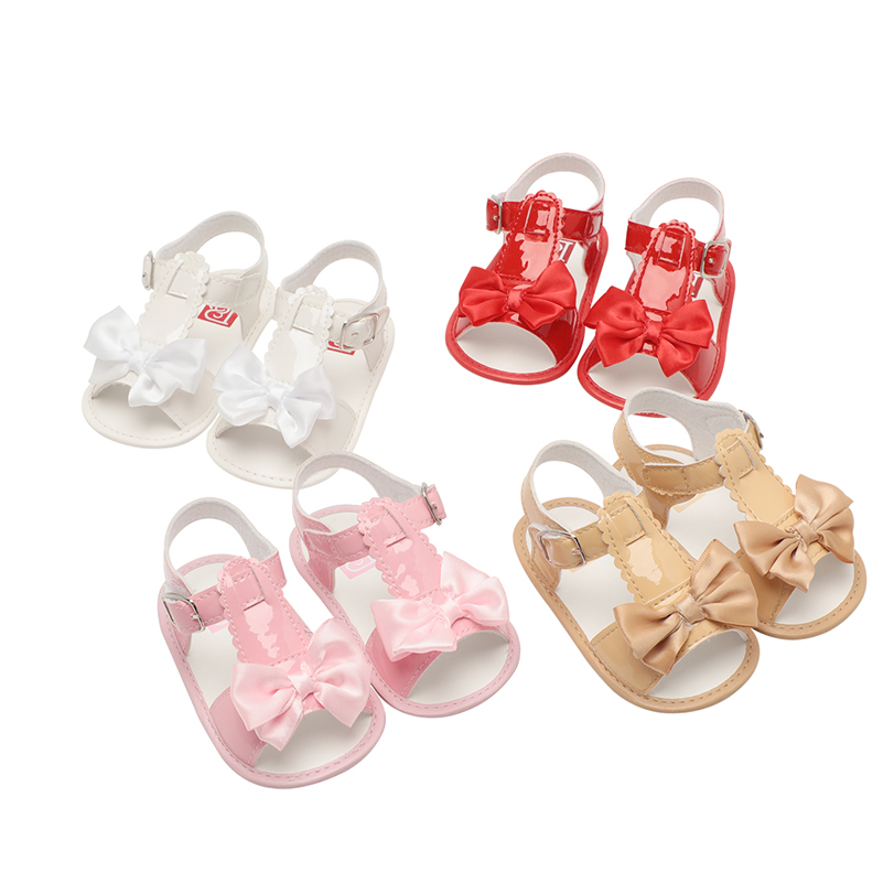 baby girl shoes new born toddler for bebe crib shoes first walker fashion anti-slip summer Pink White Red Apricot cute dropship