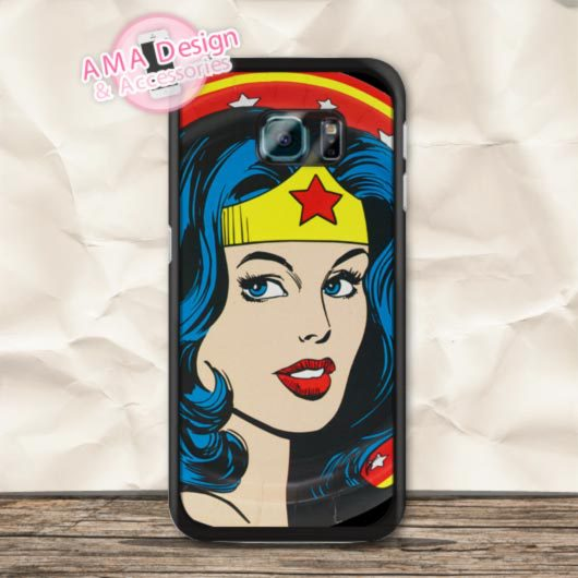 POP Книги по искусству чехол для телефона Wonder Woman герой комиксов чехол для Galaxy S6 S5 S4 MINI Ace 4 core S3 Win глобальный оптовая продажа