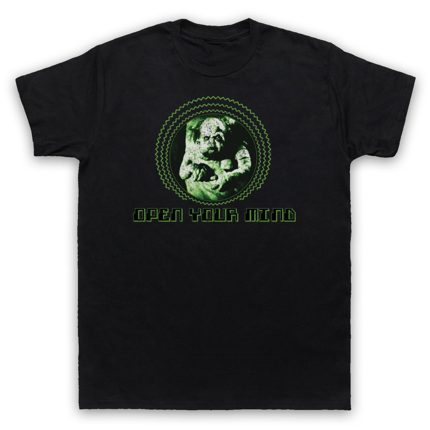 OPEN YOUR MIND TOTAL RECALL UNOFFICIAL KUATO T-SHIRT MENS LADIES KIDS SIZES COLS
