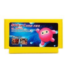 500 で 1 ゲームカートリッジビデオゲームメモリカード 180 400 1 で 8 ビット 60 ピンコンソール nintend ゲーム古典の fc カード 8in1