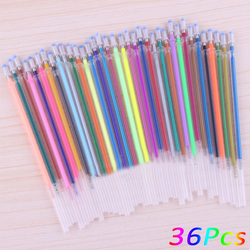 12 24 36 48 colors a set flash ballpoint gel pen highlighters refill color full shinning.jpg 250x250