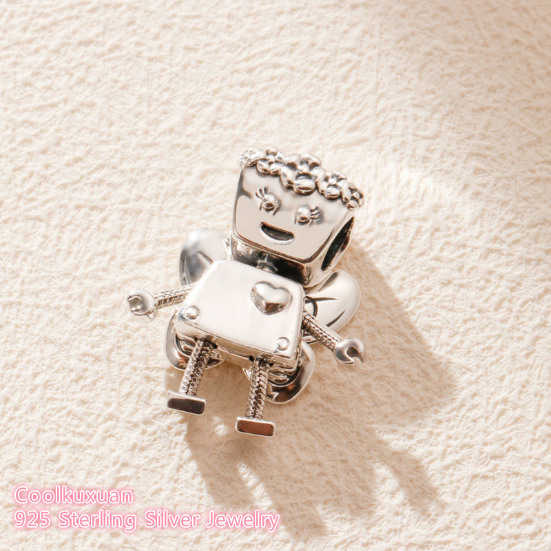 Image 4 - 2019 Spring Original 100% 925 Sterling Silver Limited Edition Floral Bella Bot Charm beads Fits Pandora bracelets Jewelry Making-in Beads from Jewelry & Accessories