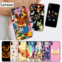 Lavaza cartoon pokemons eevee pika Silicone Case for iPhone 5 5S 6 6S Plus 7 8 11 Pro X XS Max XR lavaza cartoon mickey mouse couple silicone case for iphone 5 5s 6 6s plus 7 8 11 pro x xs max xr