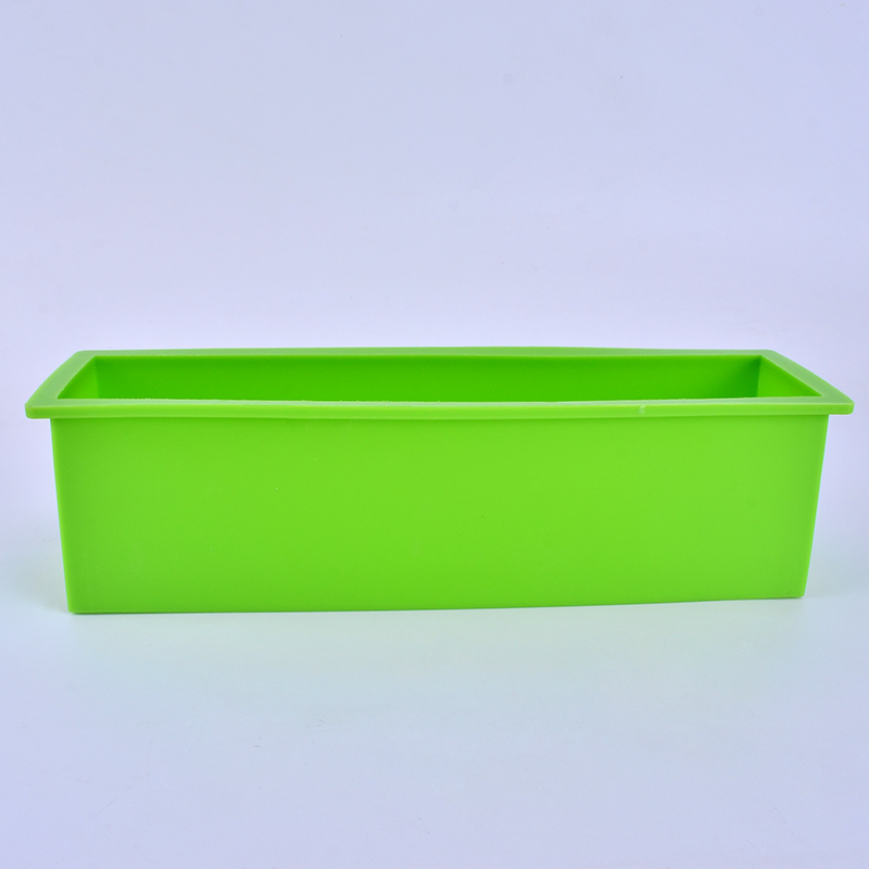 Silicone Soap Mold Rectangle Flexible Liner Loaf Mould Cake Bread Pastry Baking Tool in Soap Molds from Home Garden