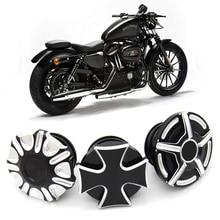 Мотоцикл с ЧПУ Алюминиевый Топливный бак газа грубые Ремесла декоративные крышки масла для Harley Davidson Sportster XL 1200 883X48 Dyna