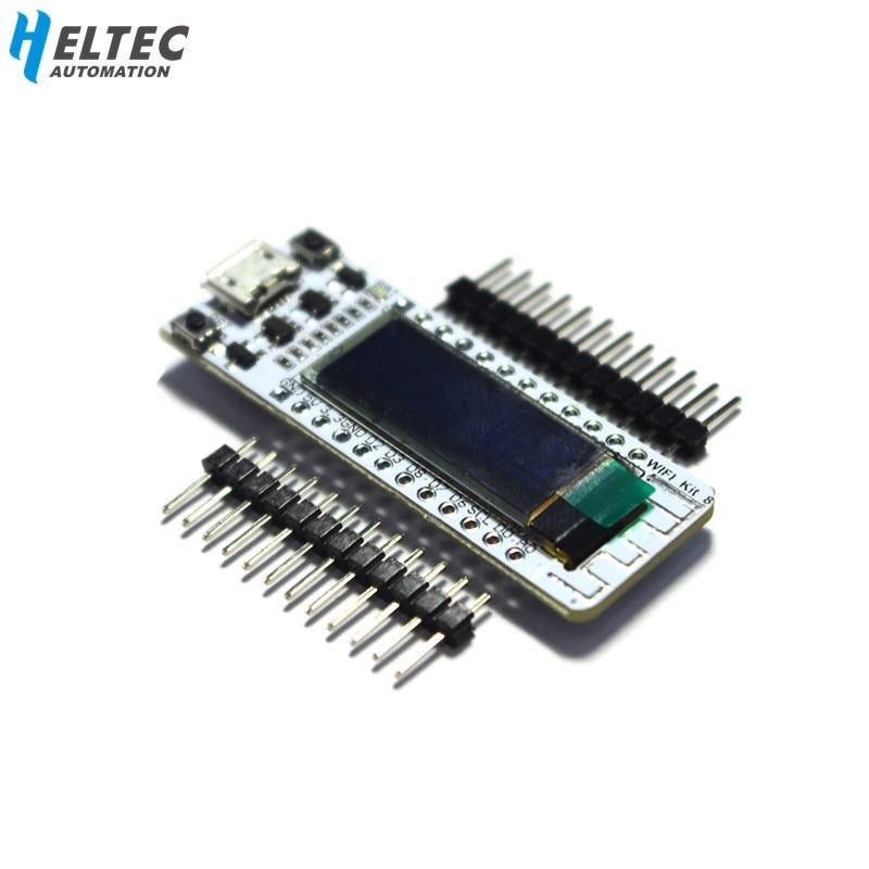 2 pcs wifi esp8266 arduino 용 0 91 인치 블루 oled 디스플레이 wifi 키트 32 iot 개발 보드