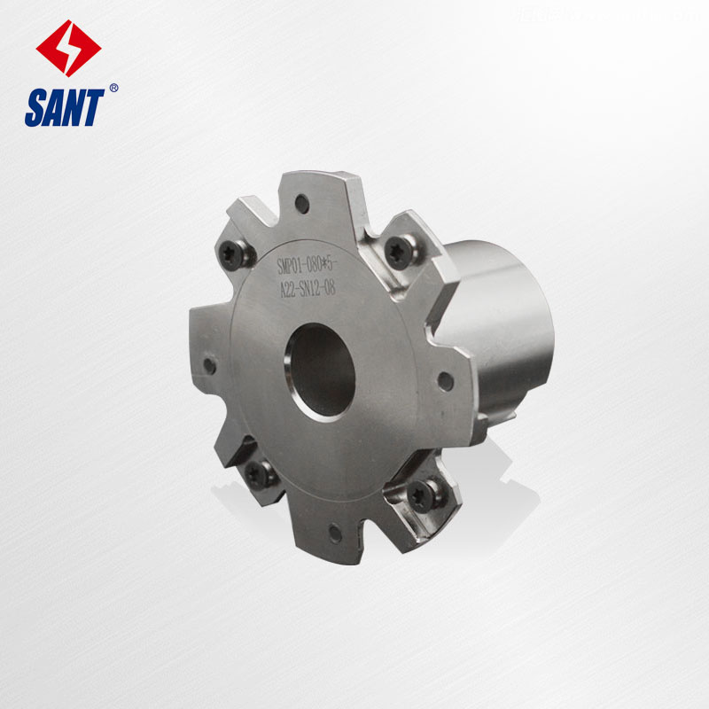 Indexable Milling Cutter Match Insert XSEQ1203 Side And Face Milling Cutter Disc PT02