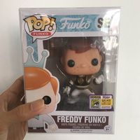 Fundays 2017 Exclusive Funko pop Official Freddy White Ranger Limited Edition 525pcs Vinyl Action Figure Collectible Model Toy