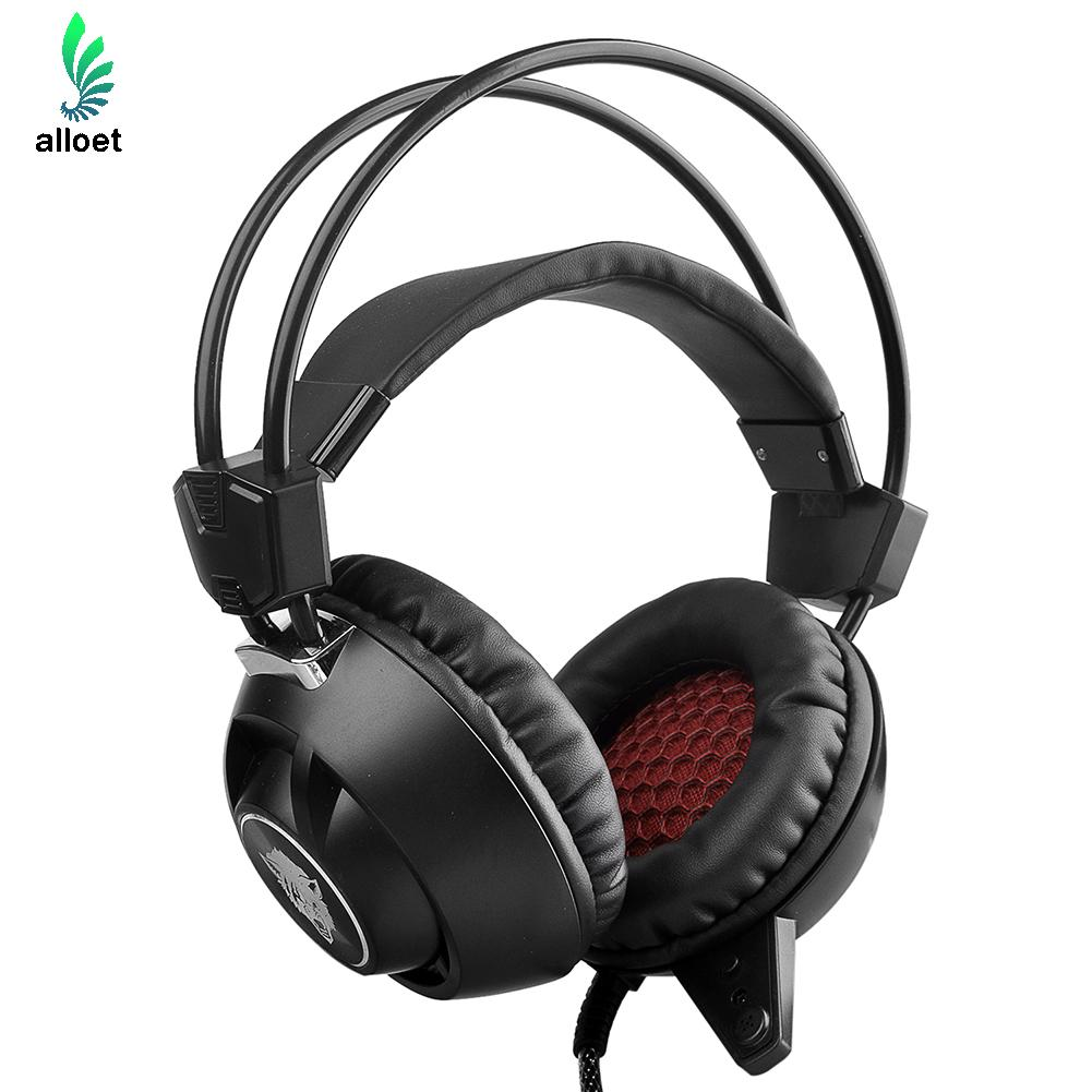 ФОТО New Arrival Headphones E-Sport Professional Game Headset with Cool Light for PC / Mac / PS4 Noisy Cancelling With Original Box