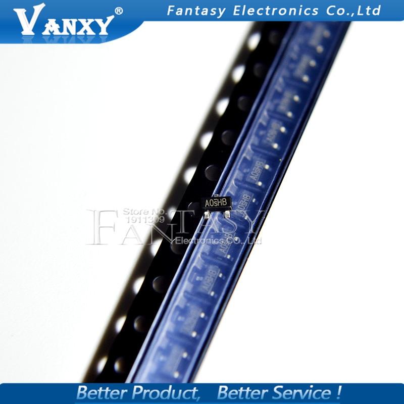 50PCS SI2300DS SOT SI2300 SOT SI2300DS-T1-E3 SOT-23 SMD New MOS FET Transistor