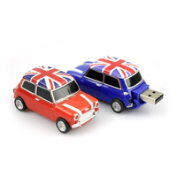 Free Shipping 8gb Car Model Usb Flash Drive Red Color Thumb Drive
